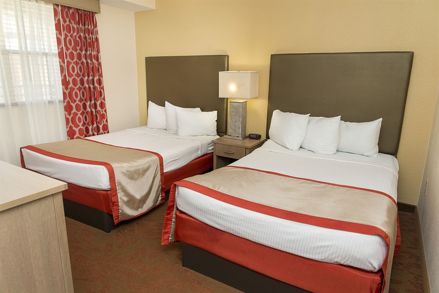 two bedroom. Master Bedroom  Guest Room Two Suites In Orlando FL Floridays Resort