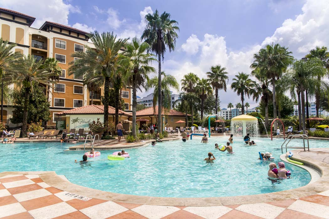 Pool area of Floridays Orlando Resort