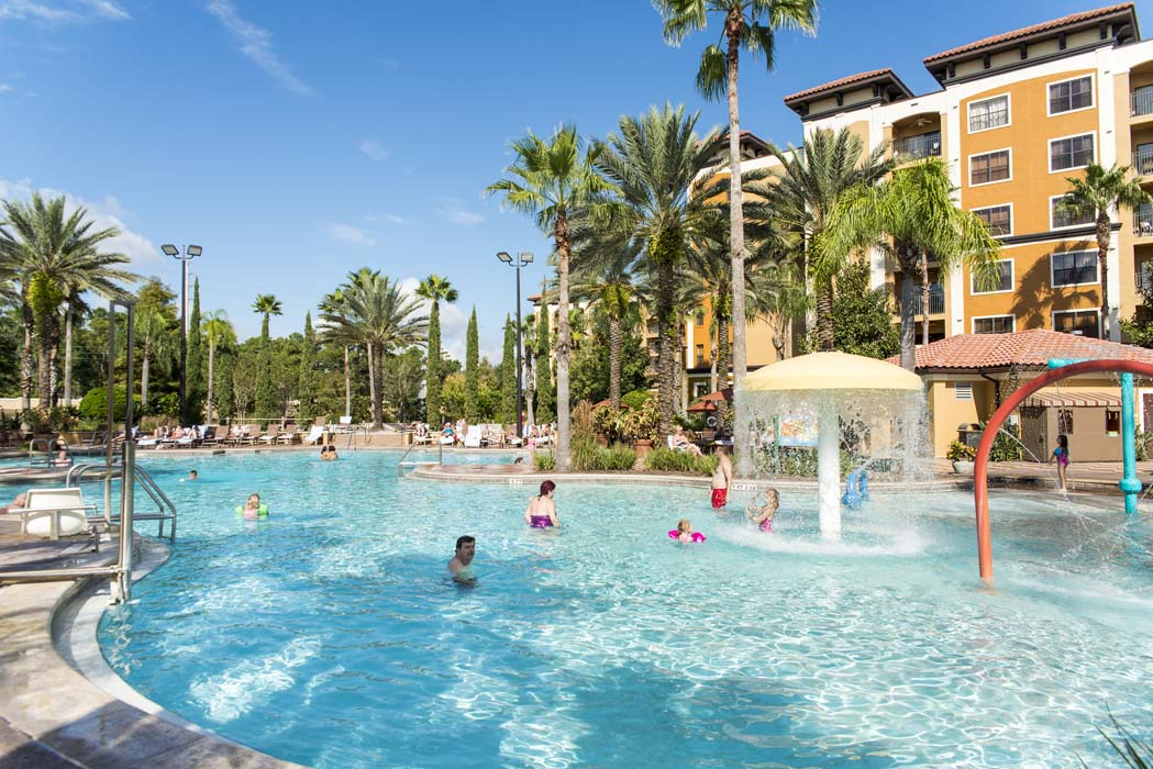 Guests in Pool at Floridays Orlando Resort